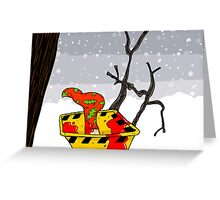 Christmas in Fargo Greeting Card