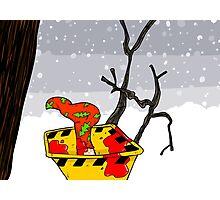 Christmas in Fargo Photographic Print