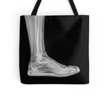 X-Ray of a foot and ankle in a trainer  Tote Bag