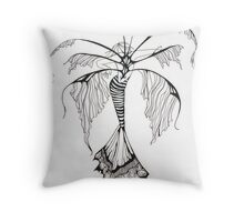 whispers wings Throw Pillow