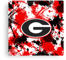 Go Dogs! Canvas Print