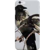 Magpie Siblings iPhone Case/Skin
