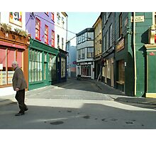 Crossing the road, Kinsale Photographic Print