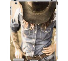 Steamgirl Elle-Mae Cowgirl iPad Case/Skin