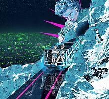 Ice Climbers by lukerobson