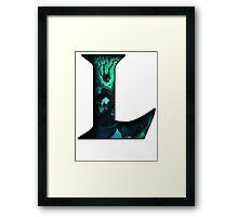 League of Legends - L - Thresh Framed Print