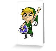 Heroes of Hyrule: Link Greeting Card