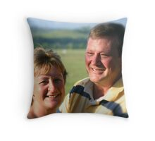 Olly and Zelly Throw Pillow
