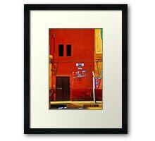 Street in Cairo, Egypt Framed Print