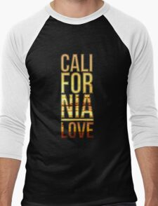 California love  Men's Baseball ¾ T-Shirt