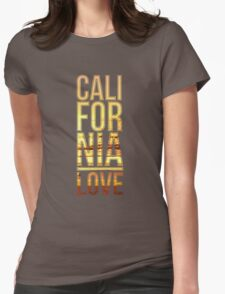 California love  Womens Fitted T-Shirt