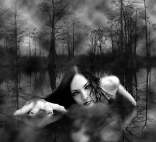 Lady in the water by MuerteBella