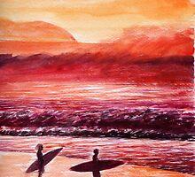 Hawaii Surfing By Yuriy B. by bihusyak
