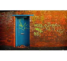 Urban Outrage Photographic Print