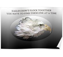 Eagles Don't Flock Together Poster