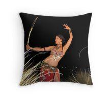 Warrior Queen Throw Pillow