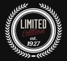 Limited Edition est.1927 by seazerka