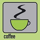 coffee green by Micheline Kanzy