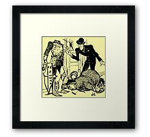 Klump To The Rescue Framed Print