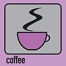 coffee purple by Micheline Kanzy