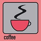 coffee red by Micheline Kanzy