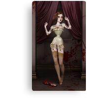 Twisted Dolls: The Butcher´s Bride Canvas Print