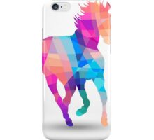 Geometric Horse iPhone Case/Skin