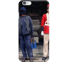 People 4119 Shoeshiners iPhone Case/Skin