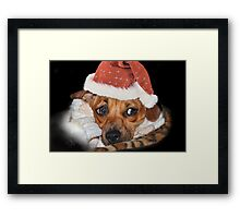And what do I get for Christmas ? Framed Print