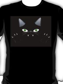 Black cat 2 T-Shirt