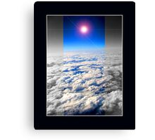 earth above Canvas Print