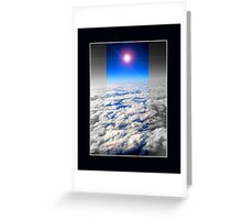 earth above Greeting Card
