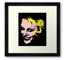 pop girl Framed Print
