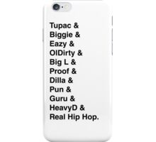 Best rappers iPhone Case/Skin