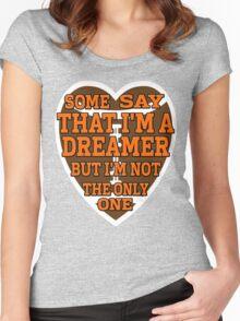 Browns Fan Women's Fitted Scoop T-Shirt