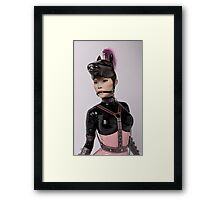 Plastic Series: Pink Amazon (Portrait) Framed Print