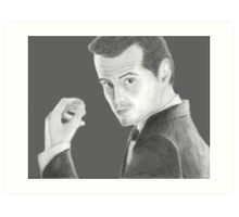 BBC Sherlock Jim Moriarty  Art Print