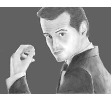 BBC Sherlock Jim Moriarty  Photographic Print