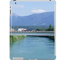Bridge over the river Drau iPad Case/Skin