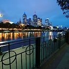 Melbourne by night....ish by richymac