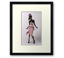 Plastic Series: Pink Amazon Framed Print