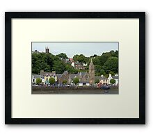 Two Churches , Tobermory Framed Print