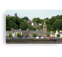 Two Churches , Tobermory Canvas Print