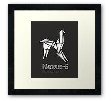 NEXUS - 6 Framed Print