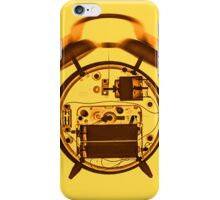 X-ray of a ringing mechanical alarm clock  iPhone Case/Skin