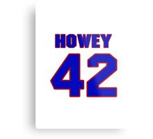 National football player Neal Howey jersey 42 Metal Print