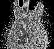 Guitar Liquid Metal by amanda metalcat dodds