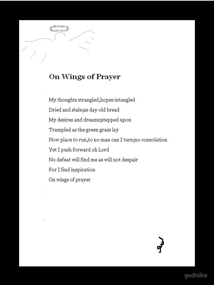 On Wings of Prayer by gudmike