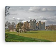 Raby Castle Canvas Print
