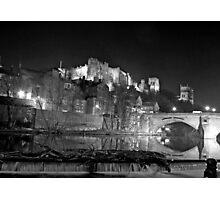 Durham by night Photographic Print